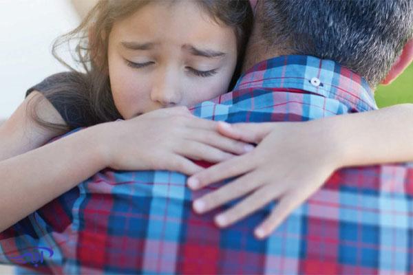 انتقال احساسات والدین