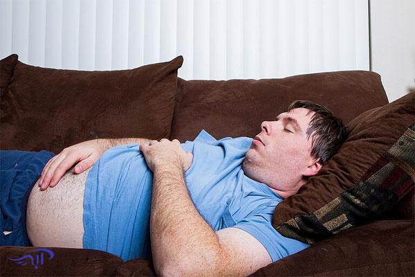 تاثیر خواب بر چاقی